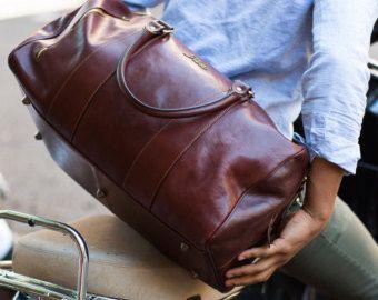 Leather Cabin Bag 22 / Floto 142180 Brown Travel Bag от FlotoBags