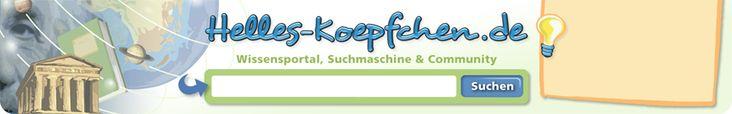 Die Startseite für junge Leute - Helles-Koepfchen.de (Topics geared to teens , searchable)