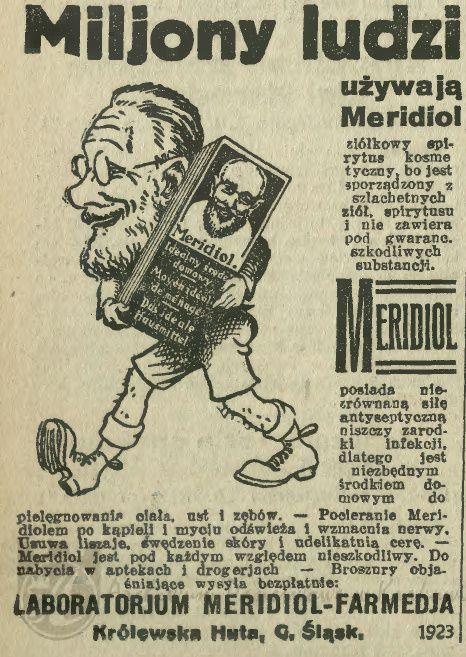 Atqa Beauty Blog :: Miljony. Reklama prasowa, 1925.