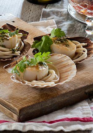 Gall & Gall Recepten | Limoencoquilles met gember en koriander…