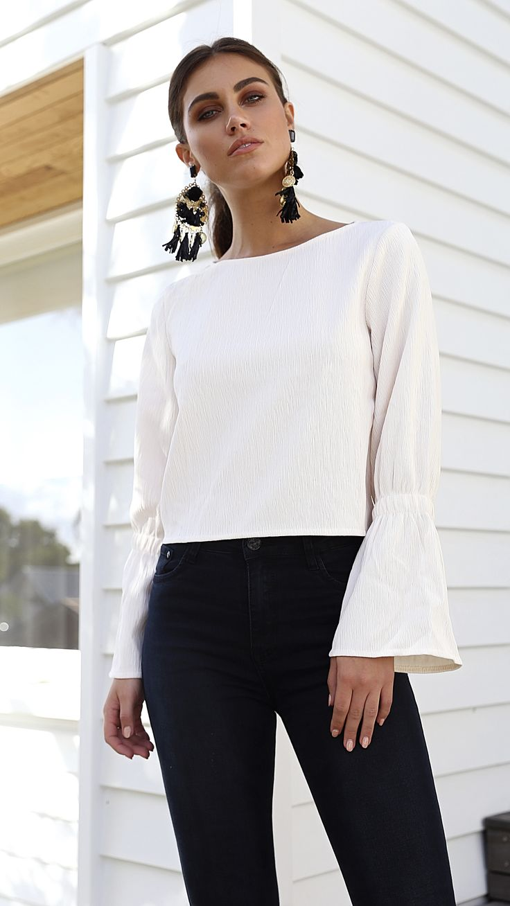 Lily Whyt - Madeline Blouse - Ivory