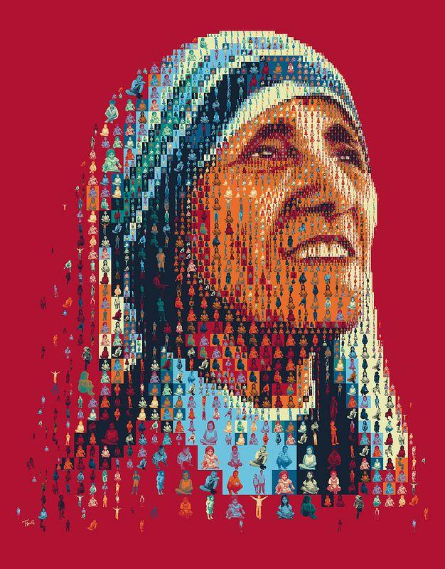 Μητέρα Τερέζα. Άλλος ένας σούπερ ήρωας του χριστιανισμού γίνετε άγιος. Διαβάστε την σκοτεινή ζωής της. http://iliastpromitheas.blogspot.gr/2016/09/blog-post_4.html