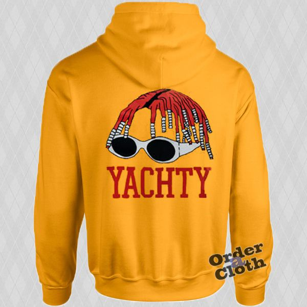 Lil Yachty Hoodie from orderacloth.com This hoodie is Made To Order, one by one printed so we can control the quality.