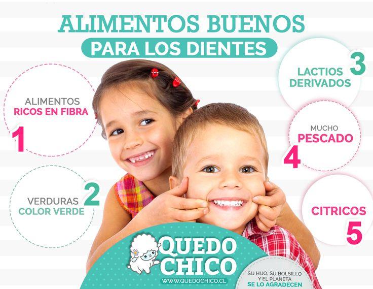 En #quedochico te brindamos los mejores consejos, sigue los siguientes tips para obtener unos dientes fuertes y saludables en tus pequeños
