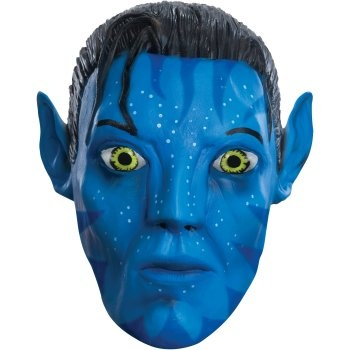 Avatar Movie Jake Sully 3/4 Vinyl Adult Mask: http://www.myhalloweencostumes.com/avatar-movie-jake-sully-3-4-vinyl-adult-mask.php - Includes: Mask. This is an officially licensed Avatar product.