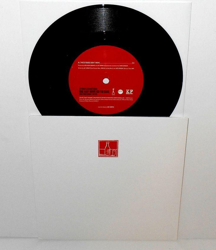 "JAY FARRAR of son volt and BEN GIBBARD of death cab for cutie 7"" Vinyl Record #AlternativeIndie"