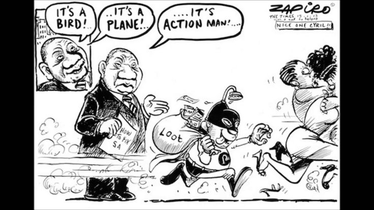 Explaining South African president, Jacob Zuma in cartoons