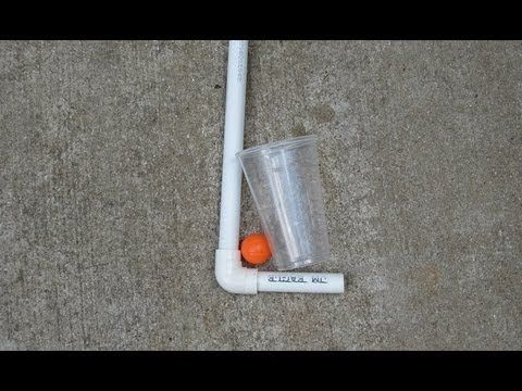 How to make a simple Golf Club for kids with PVC  If your child is interested in golf, but you do not want to spend the money right away, then here is an idea for you to make him or her a golf putter to play with. It is simple and easy to make and they will have a lot of fun.