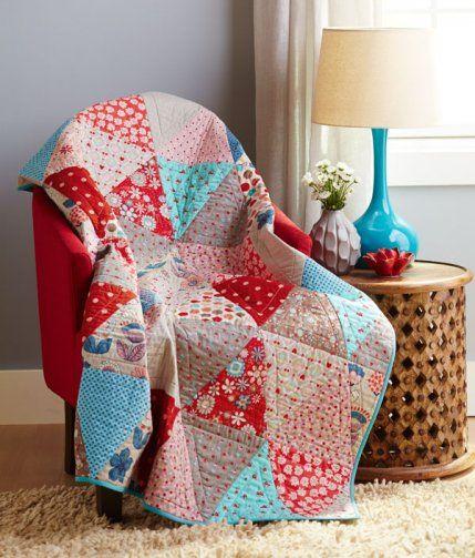 Try, Tri Again by Erin Hamilton of the Piper's Girls Quilts and More magazine Spring 2014
