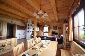 Resultat d'imatges de návrh interiéru roubenky