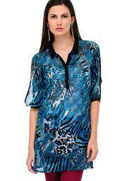 Yepme Blue Printed Kurti Online Shopping Store 499