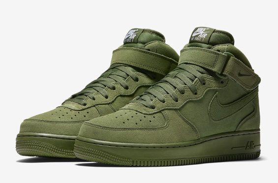 You Can't Go Wrong With The Nike Air Force 1 Mid Legion Green