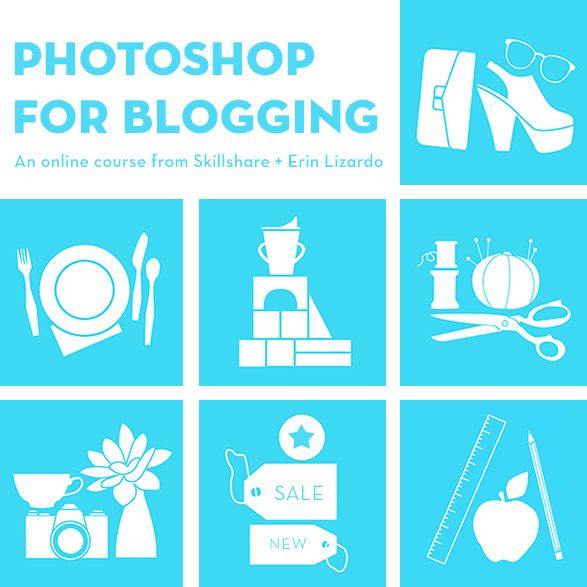 Photoshop for Blogging online course - $20 What are you waiting for!!?!?! http://skl.sh/1eCVHmY
