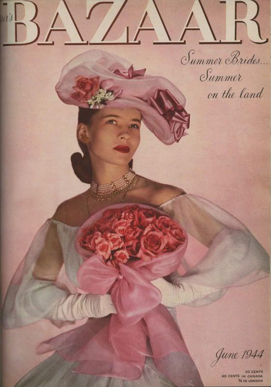 June 1944: vintage magazine cover