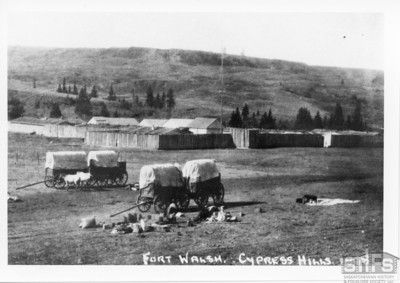 Fort Walsh - 1878