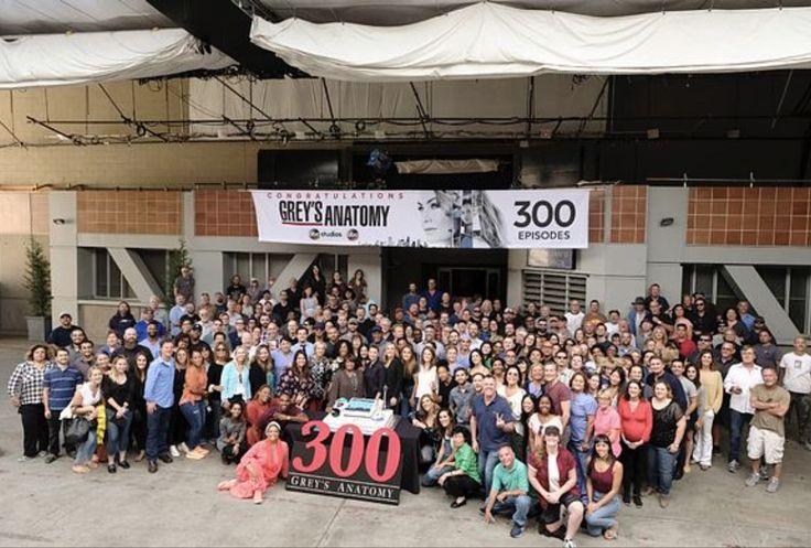 ABC's Grey's Anatomy Celebrated it's 300th Episode