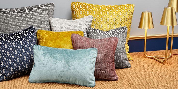 Cuscini più che Chic realizzati con i moderni tessuti della nuova #collezione #TheVelvet!  I cuscini sono realizzati con i seguenti tessuti: - #Rock, col. 6-7-9. - #Candy, col. 2-7. - #Fatale, col. 11-18. - #Song, col. 8.  #chic #lavorazioneartigianale #madeinitaly #tessuti #interiordesign #tendaggi #textile #textiles #fabric #homedecor #homedesign #hometextile #decoration Visita il nostro sito www.ctasrl.com