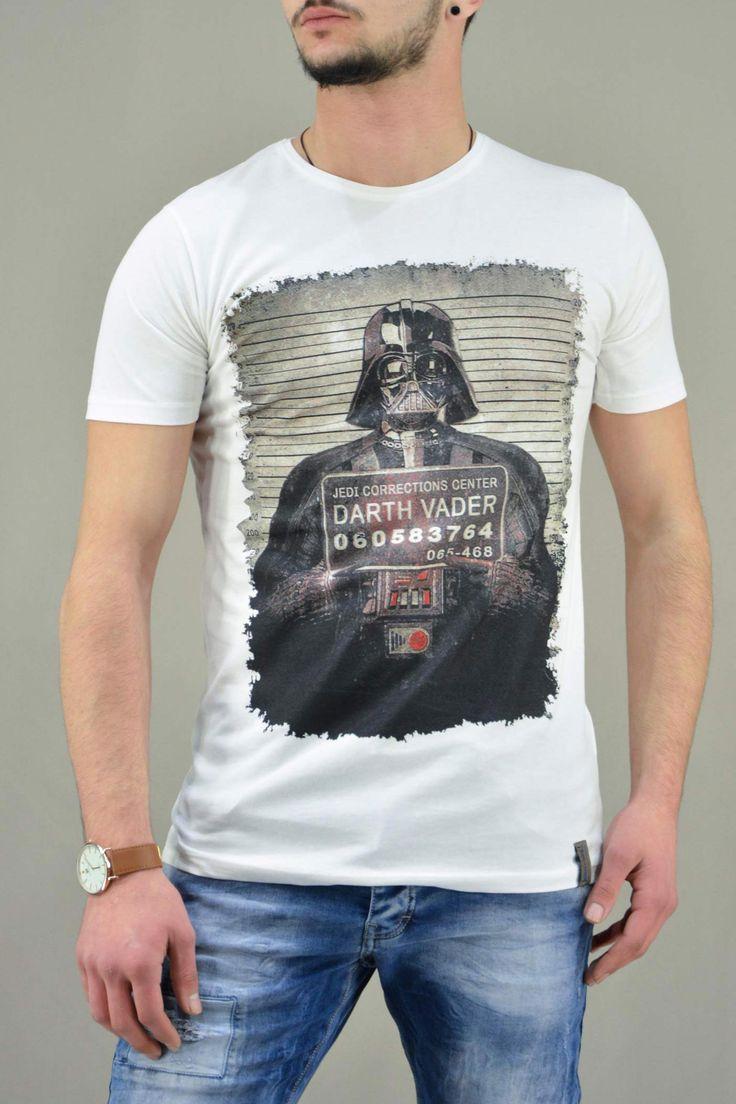 Ανδρικό t-shirt Star Wars Darth Vader MPLU-0823-wh | Άνδρας