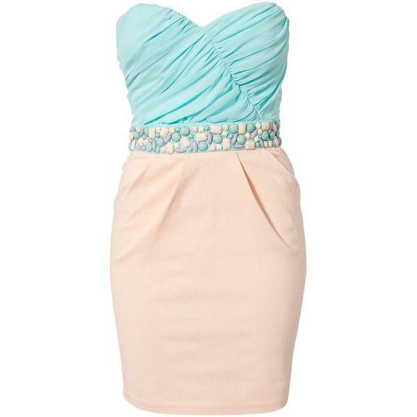 Elise Ryan Bandeau Waist Trim Dress found on Polyvore: Dresses 86, Honor Dresses, Trim Dresses, Dresses 26, Dresses 25, Elise Ryan, Ryan Bandeau, Bandeau Waist, Waist Trim