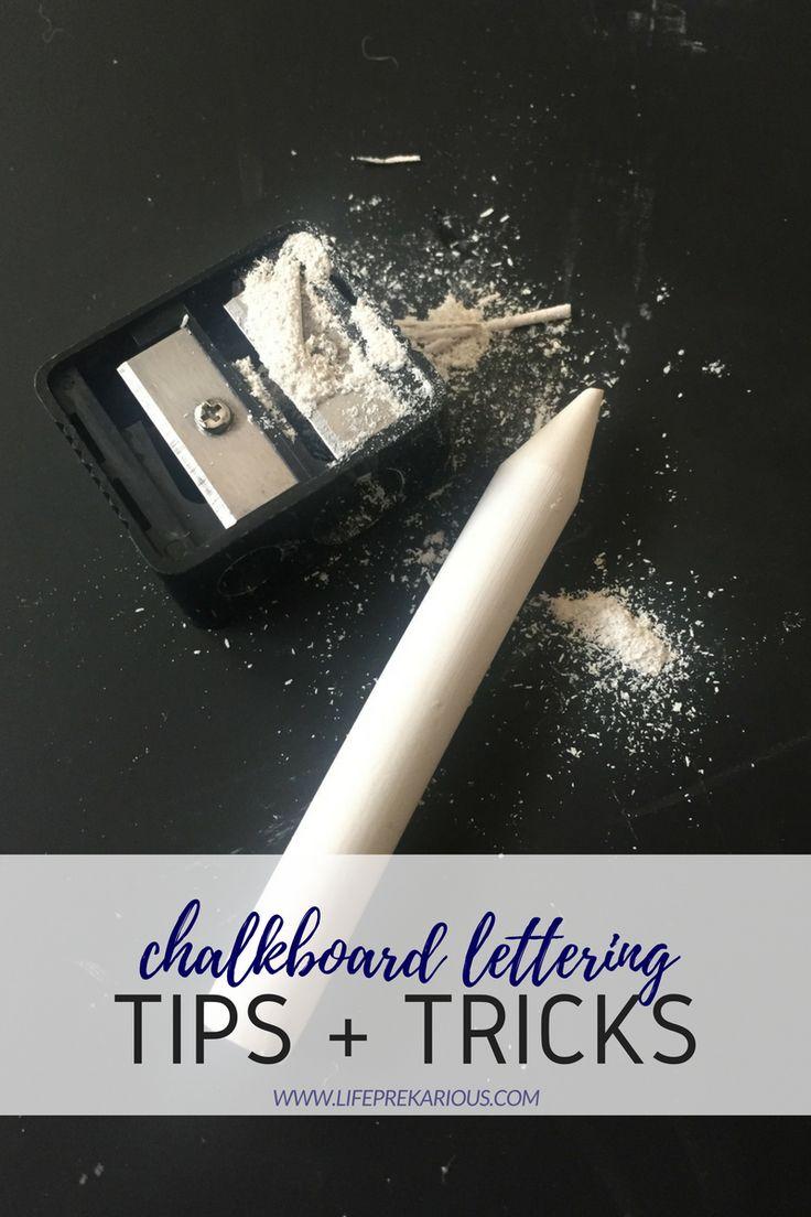 Here it is guys…5 of my BEST chalkboard lettering tips + tricks!