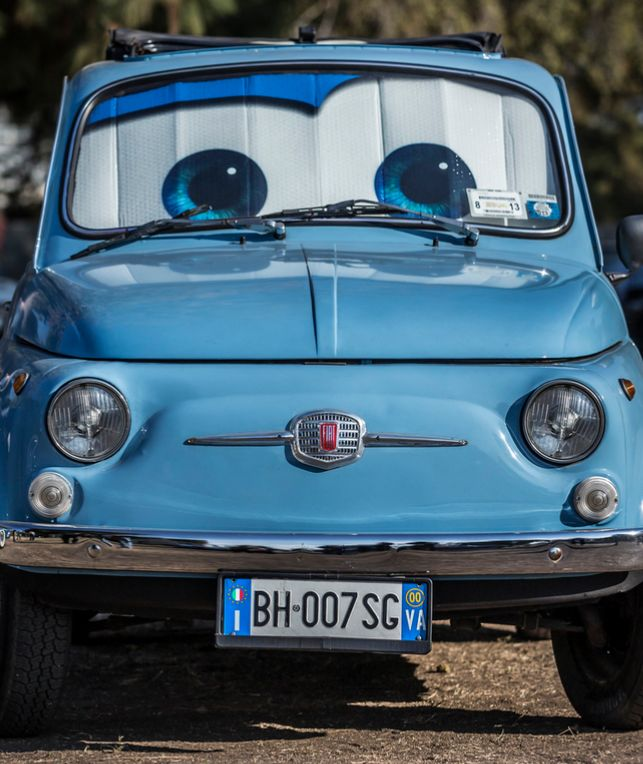I only have eyes for  the Fiat 500.