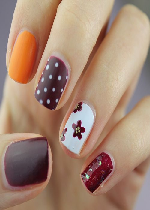 Colorful Nail Designs Scheme Make Your Hands Look Gorgeous-Have a Look