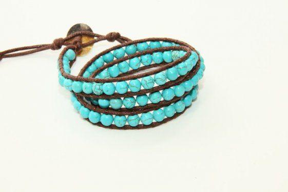 #Braccialetto Turchese #handmade #faschion #bijoux #jewelry