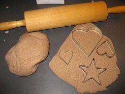 Flera recept på degar t.ex. saltdeg att göra figurer och skulpturer av.
