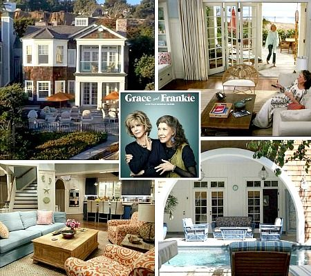Grace and Frankie Beach House Decor | Shop the Look! http://www.completely-coastal.com/2015/06/grace-and-frankie-beach-house-decor-shop-the-look.html