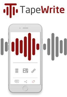 #TapeWrite heeft de ambitie om gesproken woord om te zetten in een sociale beleving. Uit lange audiobestanden kan je nu vlotjes korte fragmenten becommentariëren en delen via sociale media. #Cardification