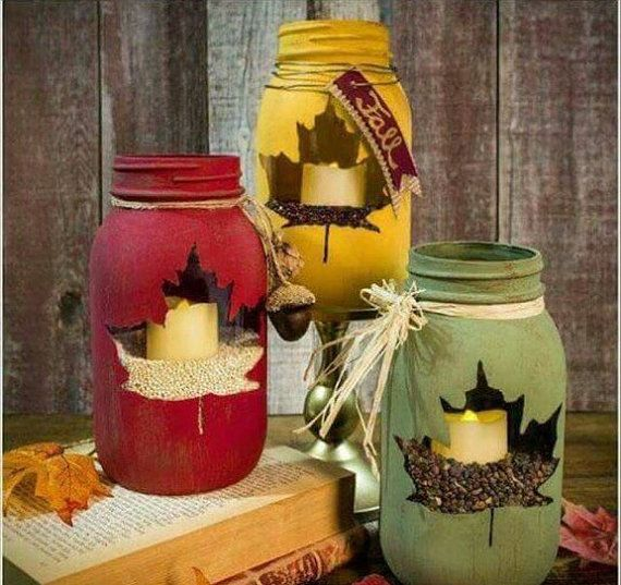 3 Jars Of Chalk Paint for $30 plus $10 shipping. You will receive: Mustard Yellow, Red Brick Road Red and Moss Green. Each jar is 16 oz Pint. Decorate your house for fall with this beautiful craft idea. These painted jars are a wonderful centerpiece idea for weddings and parties.