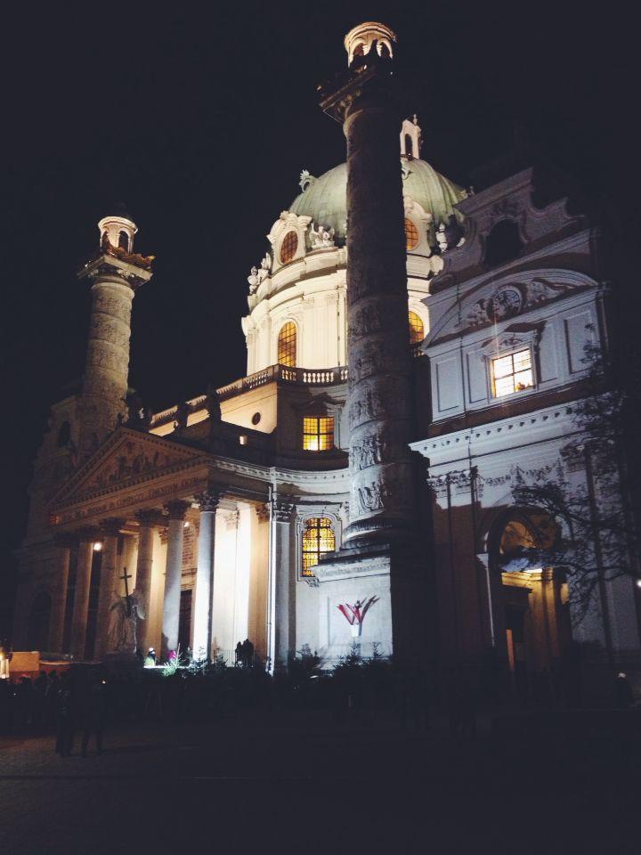 #austria #karlskirche #christmas #wien #vienna