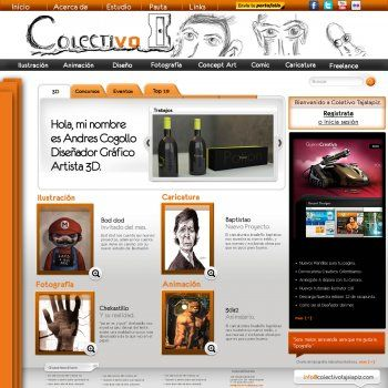 Web Colectivo Bicicleta