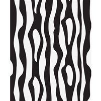 Zebra Stripes Printed Backdrop