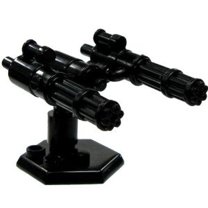 BrickArms 2.5 Scale Exclusive Sentry Gun Turret Includes Catspaw Stand