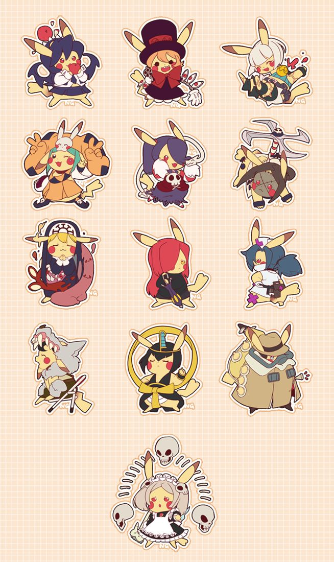 Pokemon Skullgirls