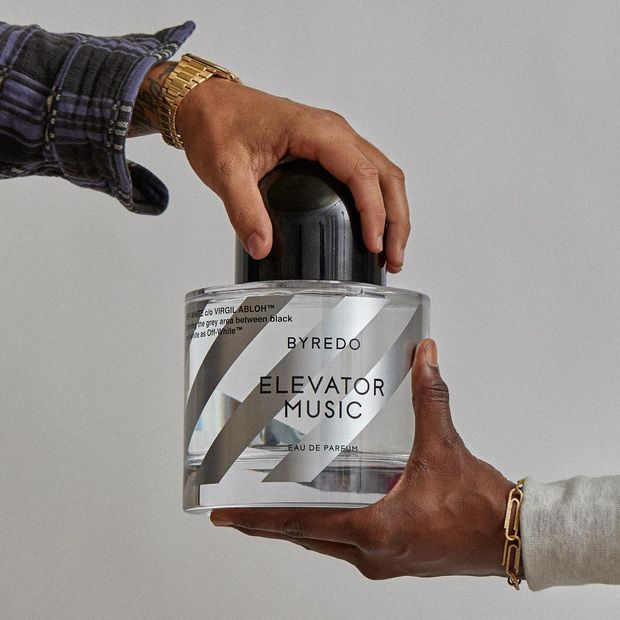 """Off-White  Byredo's """"Elevator Music"""" Fragrance Collaboration: A concept-driven capsule collection devised around one tantalizing scent"""