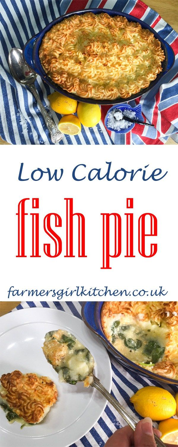 Low Calorie Fish Pie - under 300 kcal and ideal for 5:2 Fasting Diet