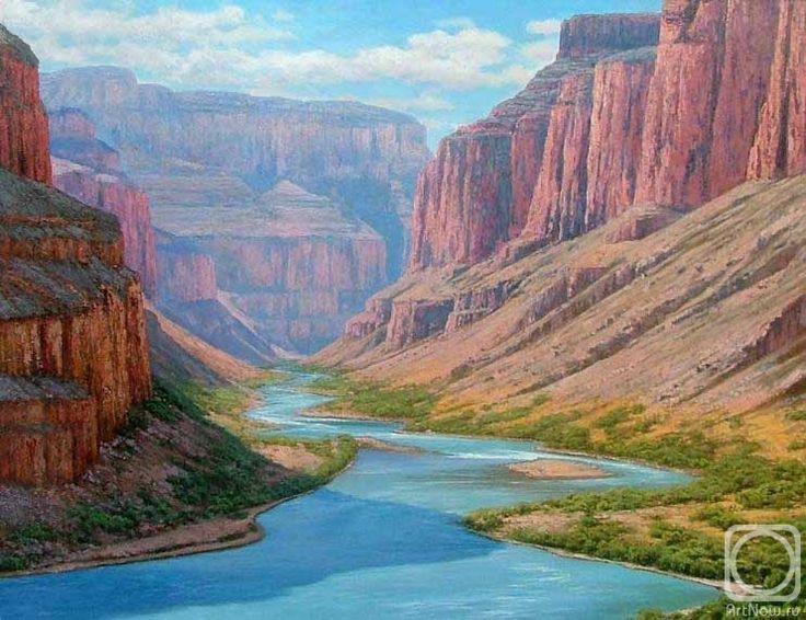 Олейник Аркадий. Гранд каньон, р. Колорадо