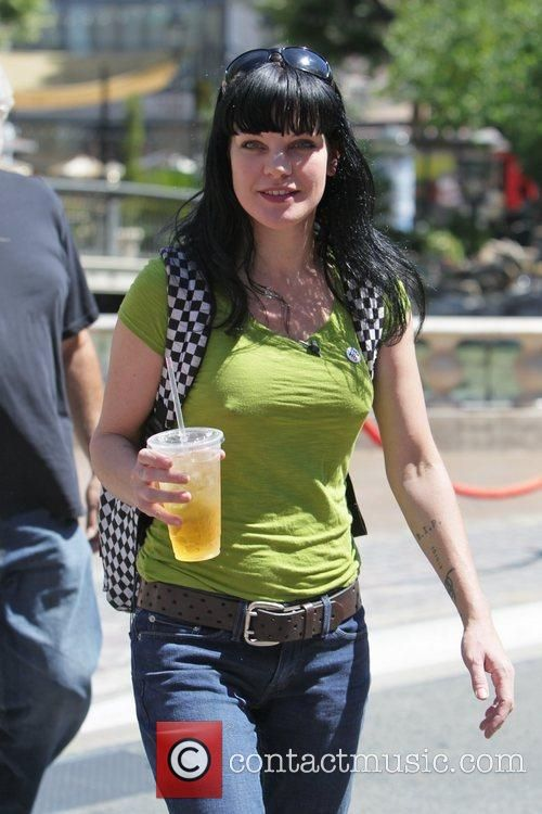 Pauley Perrette and Mario Lopez 2