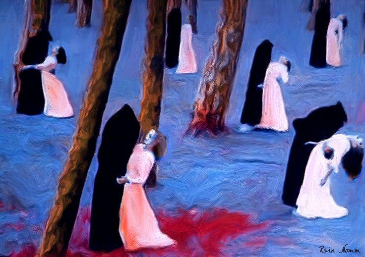 https://flic.kr/p/wdS9Zq | Death and the Maidens | homage to Achim Freyer