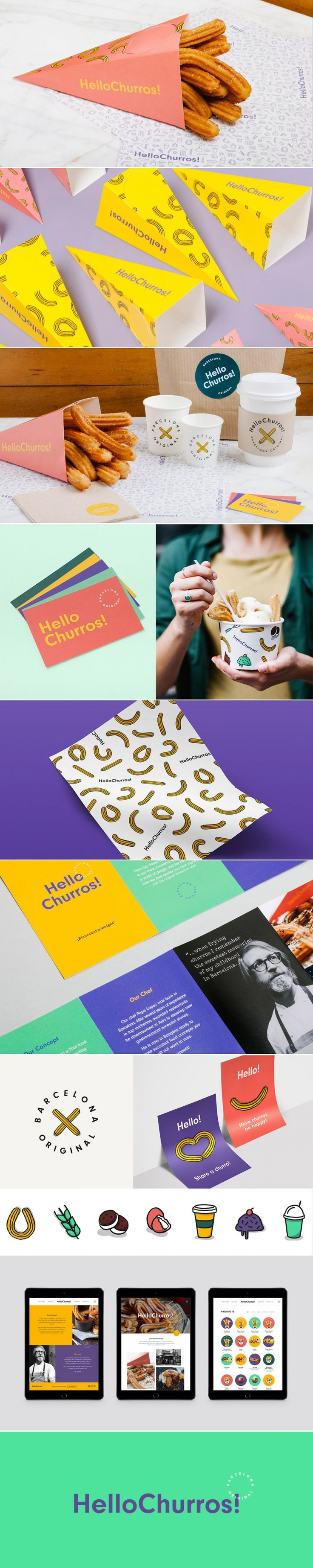 Say Hello to HelloChurros! — The Dieline | Packaging & Branding Design & Innovation News