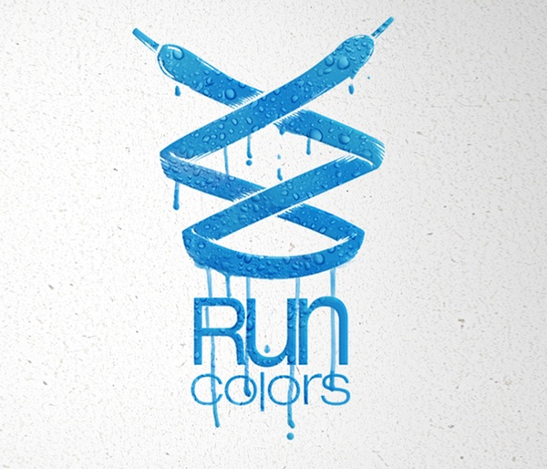 RUN COLORS by Mateusz Chmura, via Behance