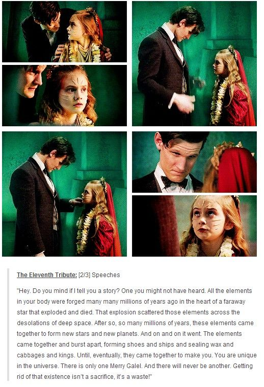 And this my friend, is why Doctor Who has been around for 50 years.
