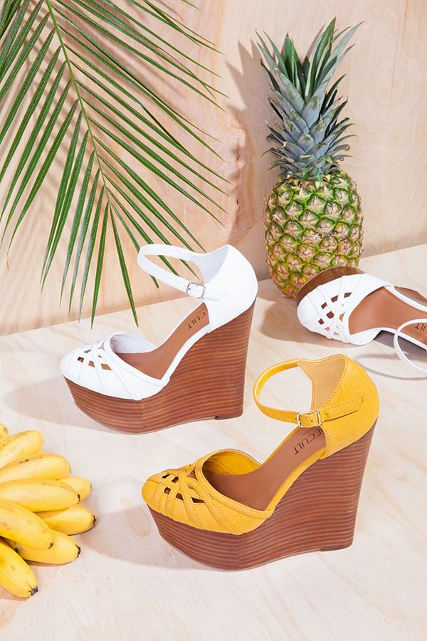 #ShoeCult Janis Wedge