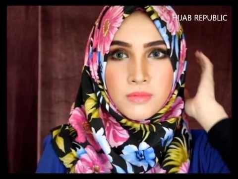 Tutorial Hijab HIJAB TUTORIAL #28 Spring Summer 2014 Love in Turkey - YouTube