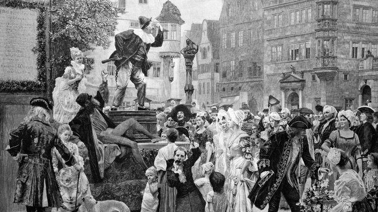 Der Hanswurst zwischen Spaß und Zensur-Die Geschichte des Clowns in seiner modernen Gestalt geht auf das 16. Jahrhundert zurück, als er im Komödien-Theater als Pausen-Unterhalter auftrat. Als Hanswurst erlangte er damals zweifelhafte Berühmtheit. Der Hanswurst war als bäuerlich-derbe Figur fester Bestandteil des deutschsprachigen Wander- und Stegreiftheaters, bis er als Kasper ins Puppentheater verbannt wurde - auch weil die Obrigkeit Angst vor seinem losen Mundwerk hatte.