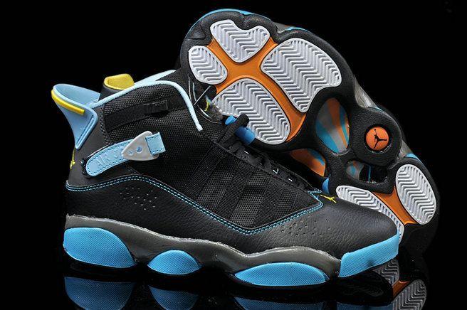 newest collection b328f 2cd8f Jordan 6 Rings Gamma Blue Black Varsity Maize Grey Size 11