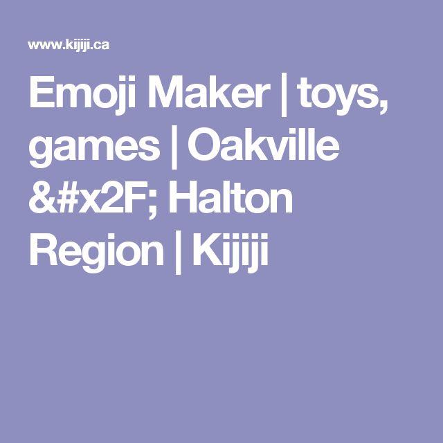 Emoji Maker | toys, games | Oakville / Halton Region | Kijiji