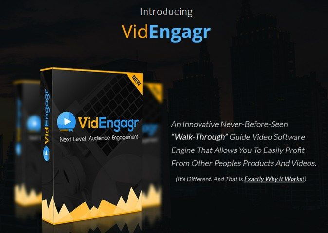 VidEngagr Guide Video Software Engine by Declan Mc